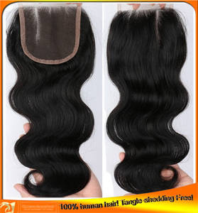 Wholesale Other Hair Accessories: Brazilian Virgin Human Hair Top Lace Closures