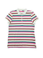 Ningbo Fuzhi Garments Men' S Knitted Custom Polo Shirt Playera Stripe Short Sleeve