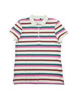Ningbo Fuzhi Garments Men' S Knitted Custom Polo Shirt Playera Stripe Short Sleeve