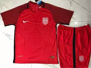 Wholesale polyester tag: 17 18 USA National Soccer Jersey