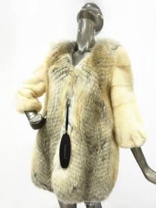 Wholesale fashion: Toskona Fashionable Gorgeous  Palomina Mink & Fox Coat
