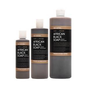 Wholesale bath soap: African Black Soap Liquid Bath