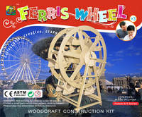Sell 3D wooden puzzle-The Ferris wheel