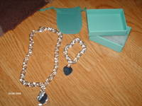 Tiffany+and+co+necklace+and+bracelet+set