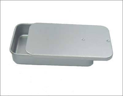 Sliding lid tin