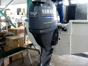 Wholesale outboard: Free Shipping for Used Yamaha 90HP Outboards Motors