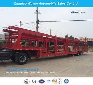 Wholesale semi trailer: Long Vehicle Car Carrier Transport Semitrailer or Semi Truck Trailer