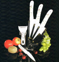 Deluxe Ceramic Kitchen Knife Set