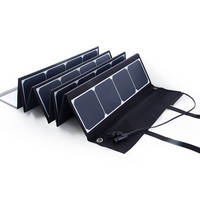 120W 12V USB Dual Output Solar Panel Module Kit Battery Power Bank Charger
