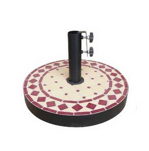 Wholesale ceramic: Ceramic Mosaic Parasol Base