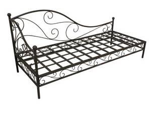 Wholesale cushions: Wrought Iron Garden Sofa