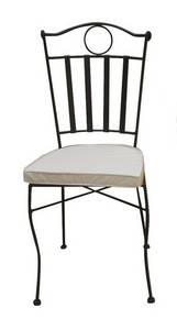 Wholesale chair: Powder Coated Wrought Iron Chair