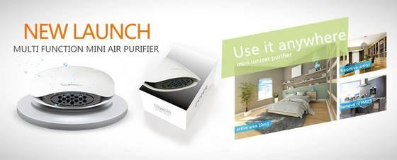 air purifier: Sell portable negative ions ozone air purifier