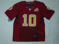 Sell Redskins #10 Robert Griffin III 2012 Elite 80th Anniversary Red Jersey