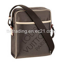 Damier Geant Canvas Message Bag for Men M93224