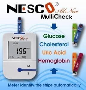 Wholesale blood glucose meter: Blood Glucose, Cholesterol, Uric Acid, Hemoglobin Meter / Monitoring System