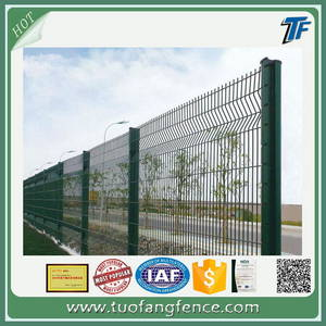 Wholesale Other Wire Mesh: 3D Panel with Peach-shaped Post