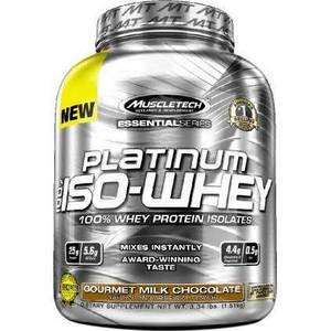 Wholesale chocolate: Platinum Essential Series 100 Iso-Whey Gourmet Milk Chocolate - 3.34 Lbs.