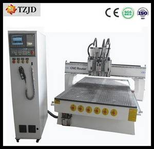 Wholesale pneumatic tools: Multi-Head Pneumatic Tool Changing CNC Router 1300mm*2500mm*300mm