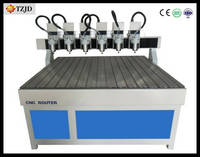 Multi Spindles CNC Router for Art-crafts