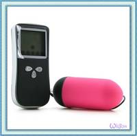 Wireless LCD Remote Vibrating Egg,Sex Toy for Woman or Lady