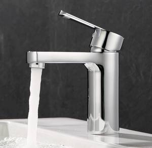 Wholesale Faucets, Mixers & Taps: Wholesale Modern Design Basin Faucet Mixer Water Tap Solid Brass