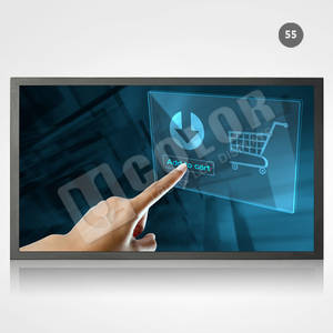 Wholesale interactive monitors: 55 Large Format Touch Screen Interactive LCD Monitor
