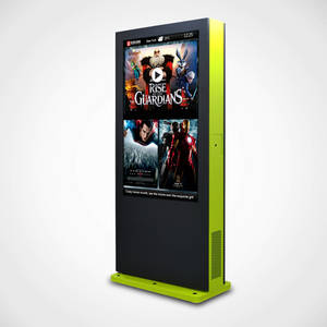 Wholesale lcd touch screen monitors: 49 Inch Fans Cooling Outdoor IP65 Touch Screen LCD Display Monitors/ Screens/Signs