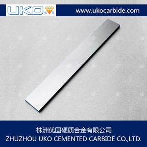 Wholesale pvc strip china: Solid Tungsten Carbide  Wear Strips for Cutting Tools