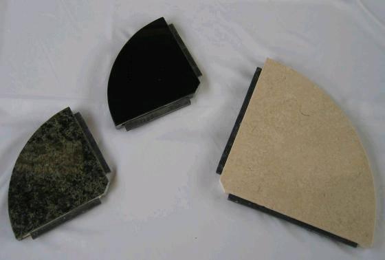 Marble or granite bathroom soap dish corner shelf id for Marble bathroom shelf