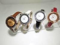 Sell Batch of flower glass quartz watch