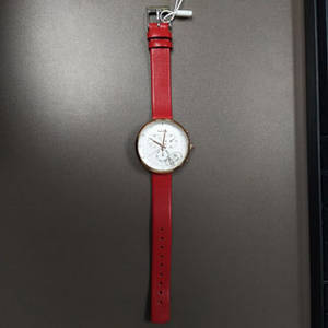 Wholesale fashion watch: Genuine Leather Strap 3eyes Fashion Women Quartz Watches