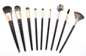 Wholesale makeup brush: 2017 Canton Fair 9PC Makeup Brush Set