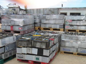 Wholesale for cars: Drained Battery Scrap