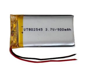 Wholesale Battery Packs: Rechargeable Lipo Battery  Polymer Battery UT802545 900mAh