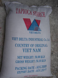 Wholesale Starch: Tapioca Starch - Industrial Grade