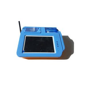 Wholesale tft: 7 TFT LCD Display Tablet Android Pos with QR Barcode Reader and Fingerprint Scanner