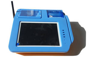 Wholesale rfid card reader: UN3200 Android POS with Fingerprint Scanner Smart Card Reader and RFID