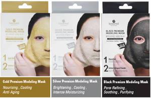 Wholesale 3 step mask: SHANGPREE Gold Premium Modeling Mask