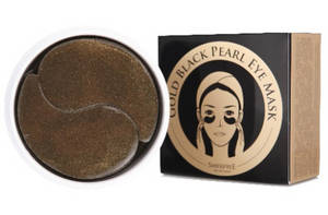 Wholesale gold: SHANGPREE Gold Black Pearl Eye Mask