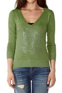 Wholesale v: Wholesale Mint Green V-Neck Tiger Top