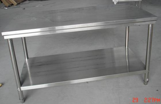 High Quality 2 Tier Stainless Steel Kitchen Table(id:4910558) Product Details .