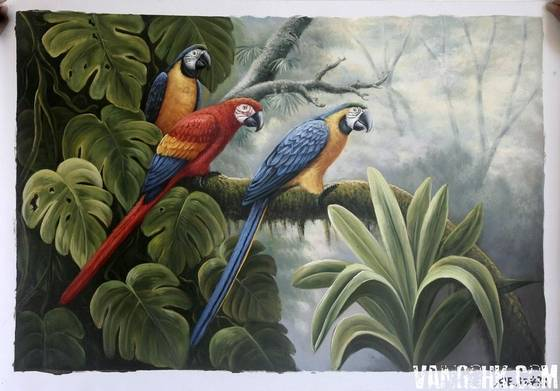 The gallery for --> Famous Oil Paintings Of Birds
