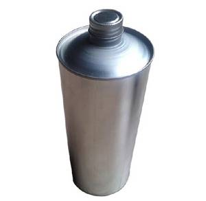 Wholesale oil painting: 250ml/500ml/1L Round Engine Oil Paint Metal Can Screw Top Lid Tin Can