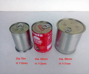 Wholesale food tin: Food Grade Tin Can with Easy Open Lid