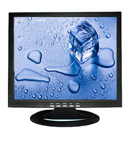 Wholesale cctv lcd monitor: 15-inch CCTV LCD Monitor with 1,024 X 768 Pixels, VGA and BNC Optional