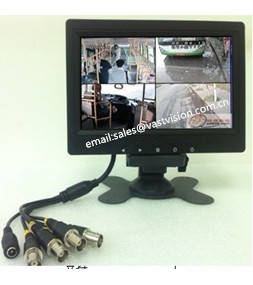 Wholesale cctv lcd monitor: 7-inch CCTV/TFT LCD Monitor with 2 AV/BNC/HDMI Input (Optional)