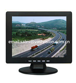 Wholesale lcd cctv display: 10-inch TFT Security LCD Display with 800 X 600 Pixels, BNC/VGA/RCA Optional