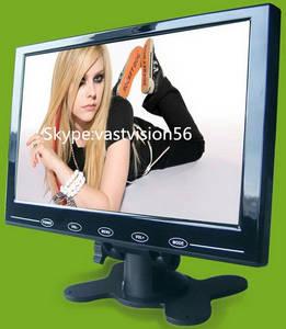 Wholesale car pc: 9-inch Car PC LCD Monitor with 2 AV Input,VGA/HDMI Optional