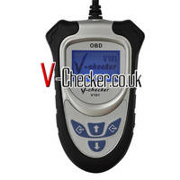 Sell V-Checker V101 Finnish OBD2 Code Reader Without CAN BUS